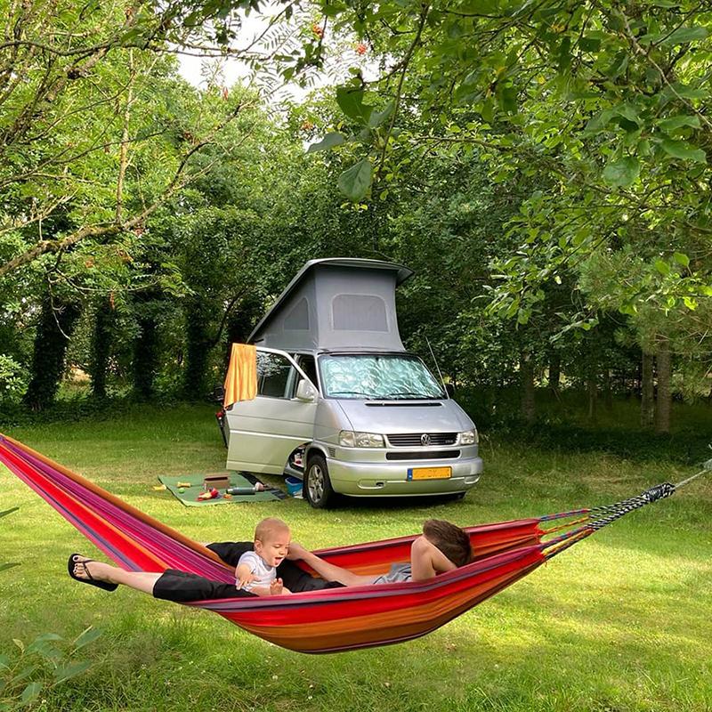 Camper kampeert bij Stilbjerg