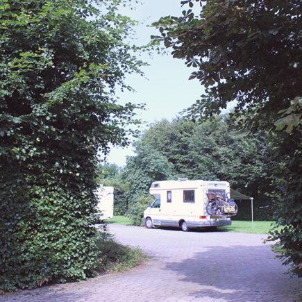 campers kamperen bij camping stilbjerg danmark