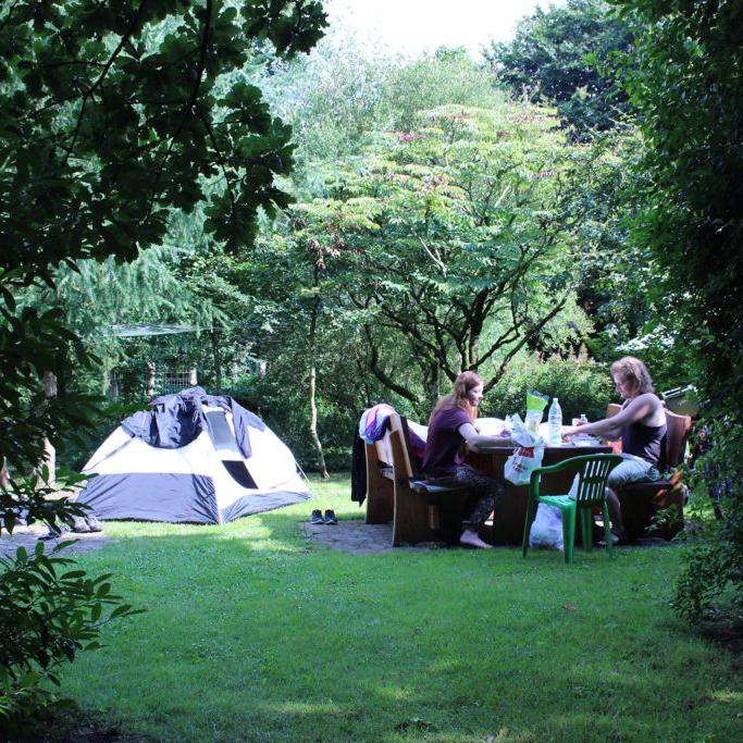 Kamperen met een tent bij Stilbjerg